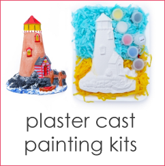 Plaster cast painting kits